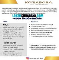 Open Recruitment at Kollabora Coffee Geeks and Workspace Surabaya Juli 2020