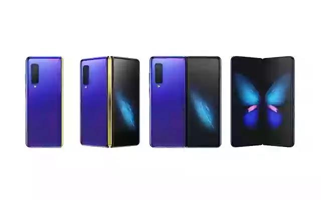 Samsung Galaxy Fold phones