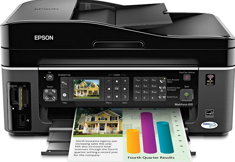 Epson Workforce 610 Driver Downloads For Windows 10