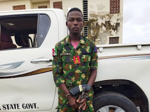 Police Arrest Fake Soldier With AK-49 Rifle, 60 Other Suspects In Nasarawa