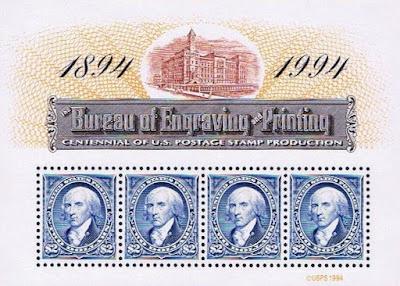 1994 Madison Engraved Centennial Bureau Engraving Printing