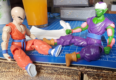 Piccolo Krillin Bandai Dragon Ball Series 2 Collectible Articulated Figures