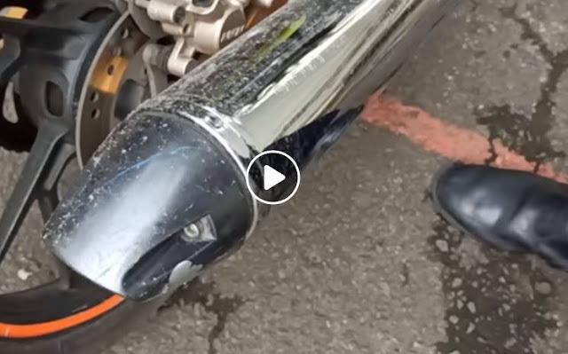 Viral Knalpot Standar Satria F150 Kena Tilang, Mari Bahas Dari 2 Sudut