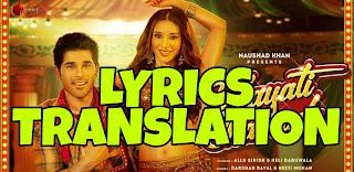 Vilayati Sharaab Lyrics in English | With Translation | – Darshan Raval x Neeti Mohan