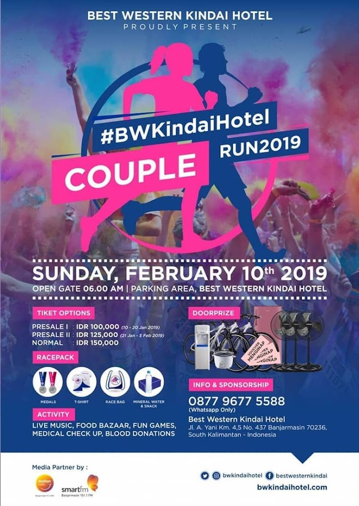 BW Kindai Hotel Couple Run • 2019