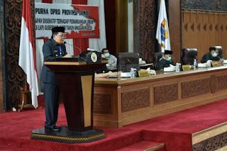 Gubernur Apresiasi Dukungan Dewan Realokasi Anggaran Rp200 M untuk Penanganan Covid-19