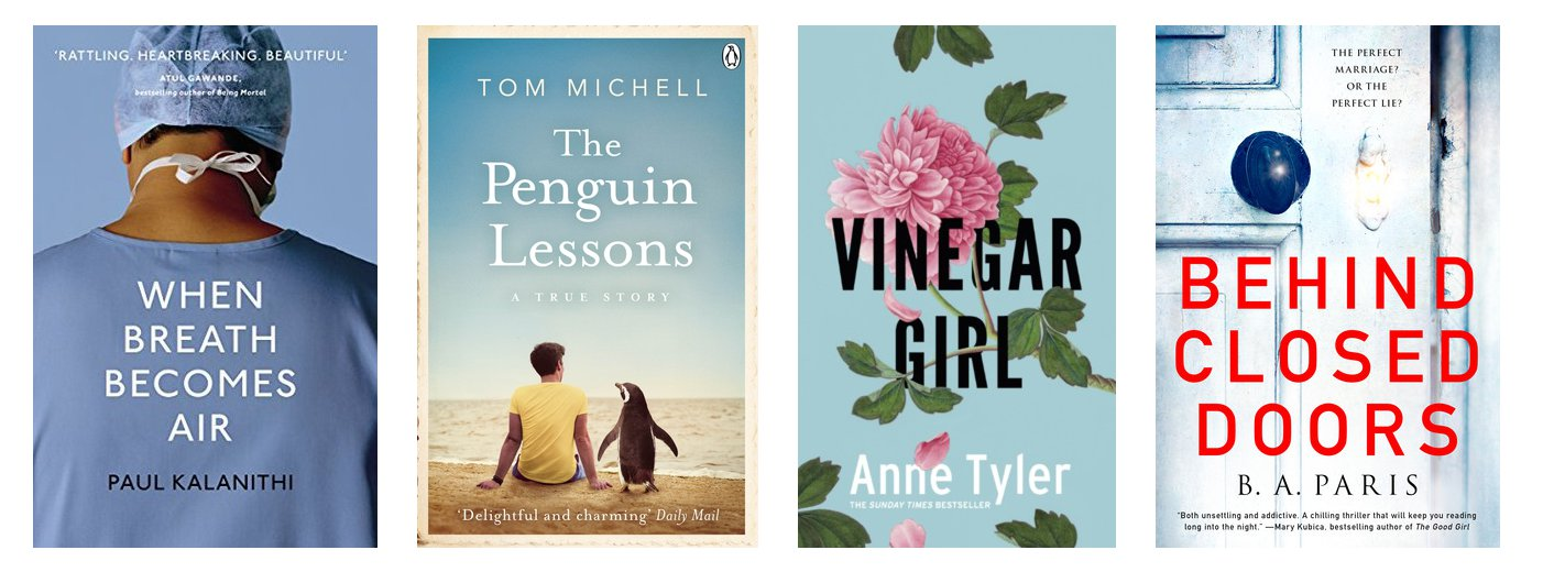 My March Recently Read Books featuring Anne Tyler, B. A. Paris, Paul Kalanithi and Tom Michell | Hollie In Wanderlust