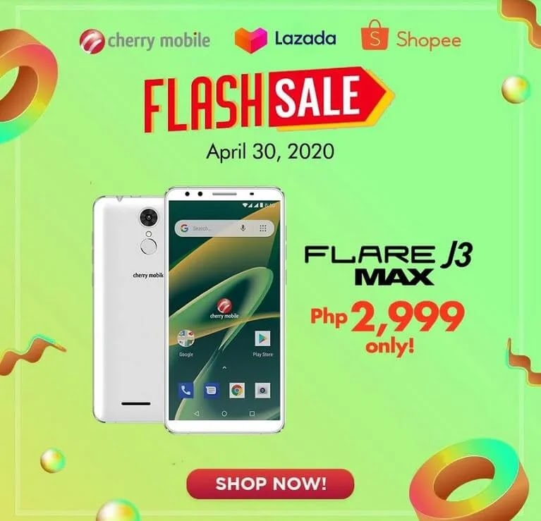 Cherry Mobile Flare J3 Max Will Be On Sale Tomorrow For Only Php2,999