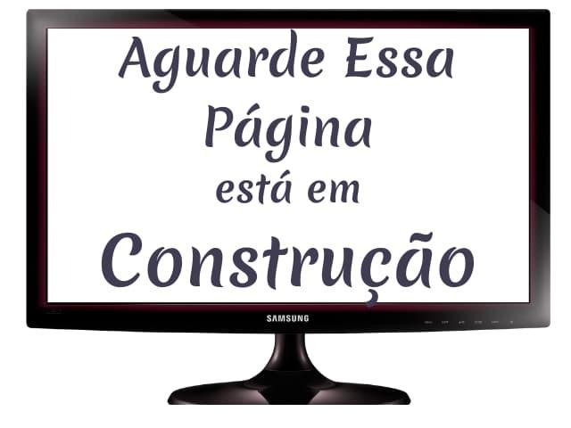 construção de página