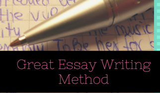 How to write great eassy