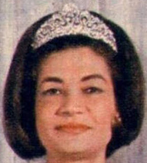 diamond tiara iran princess soraya pahlavi ashraf