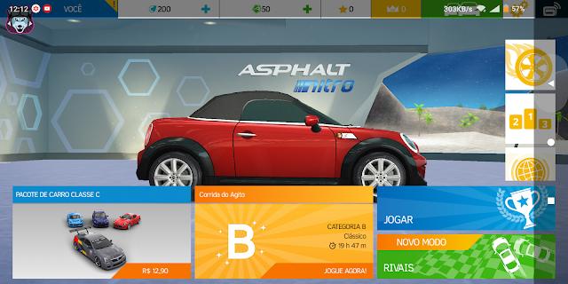 imagens do jogo asphalt nitro para celular android