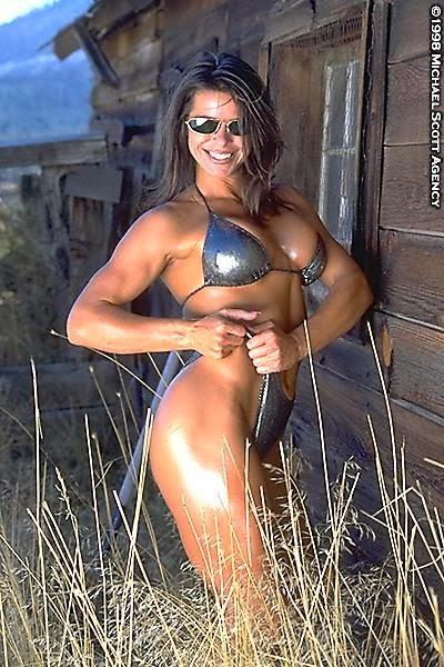 90s Fitness Models - Heidi Brink