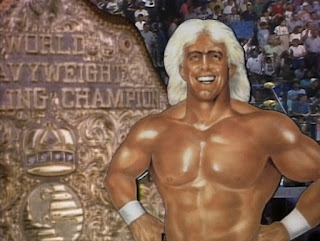 WCW Clash of the Champions XI - Ric Flair graphic for the main event