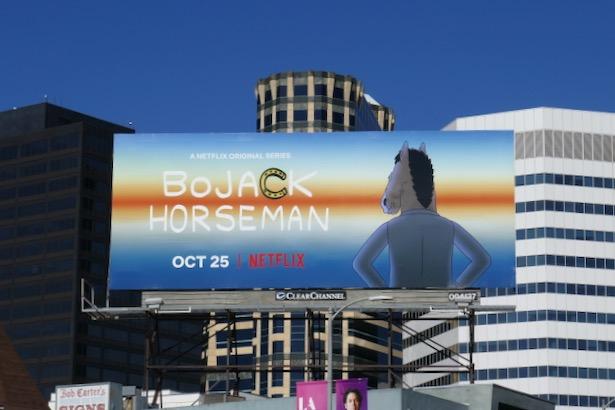 BoJack Horseman final season 6 billboard