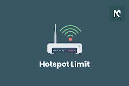 Cara Membatasi Kuota Hotspot WiFi Android