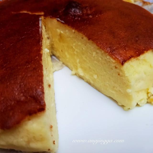 resepi burnt cheesecake Khairul Aming