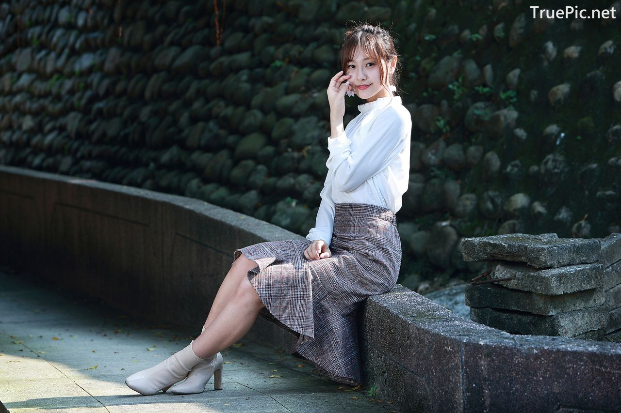 Image-Taiwanese-Model-郭思敏-Pure-And-Gorgeous-Girl-In-Office-Uniform-TruePic.net- Picture-8