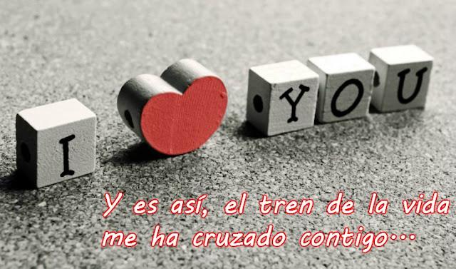 Te adoro amor