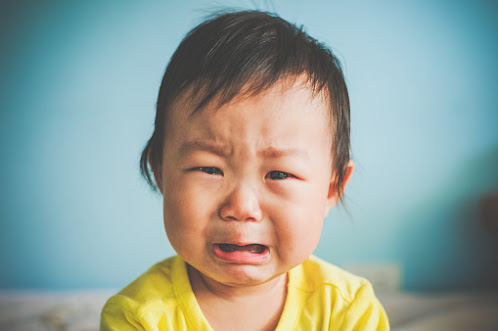 we weep or cry when we are emotional or in depressed state