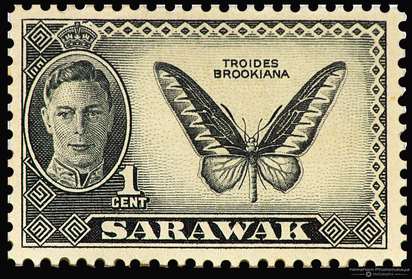 Malaya Sarawak And North Borneo Stamps Collection