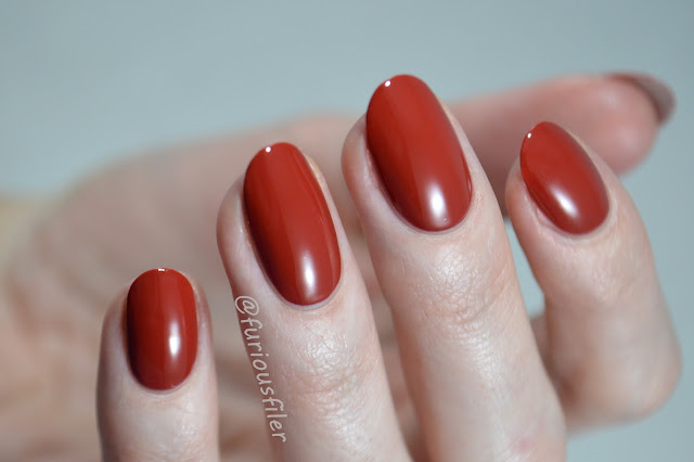 leighton denny feel the burn swatch meebox red