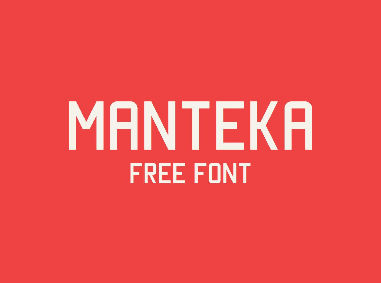 تحميل خط مانتيكا اللاتينى الرائع - Manteka Font