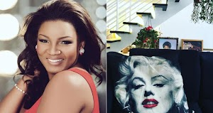 Actress Omotola Jalade-Ekeinde And Husband Have Moved into Their New Home