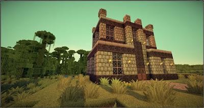 castillo con pack de texturas