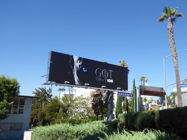 Game of Thrones season 7 teaser billboard