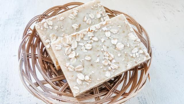 Oatmeal cold process soap