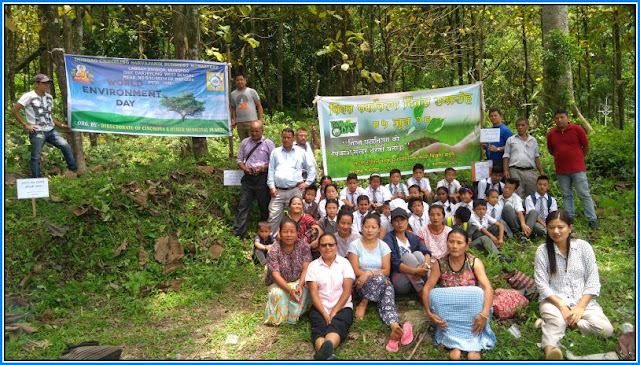 World Environment Day observed by Labdah cinchona Division