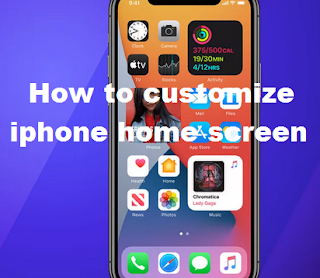 How to customize the iPhone home screen on iOS14
