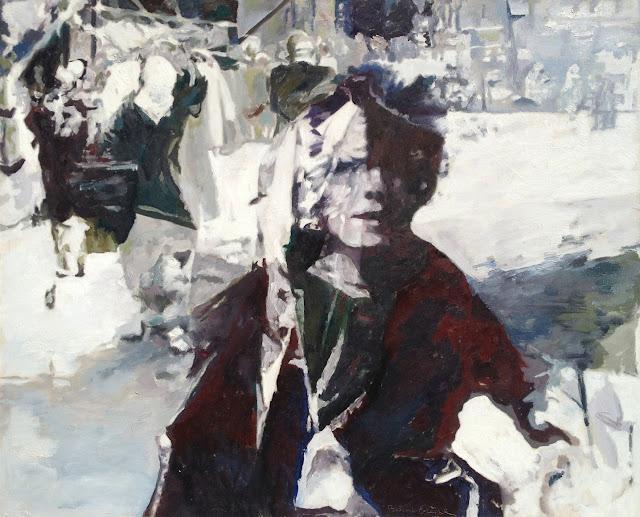 Balcomb Greene - Figurative Abstract Painting