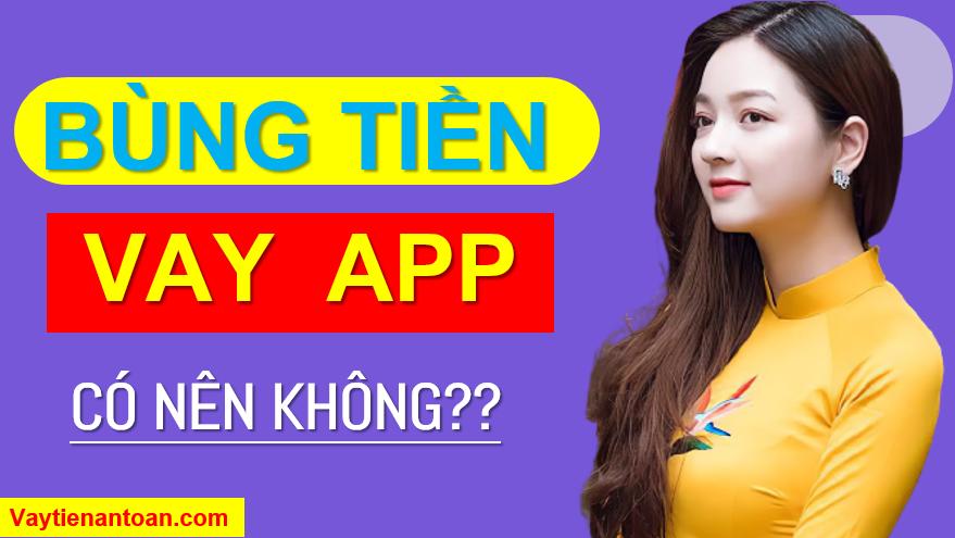 bùng tiền app vay online