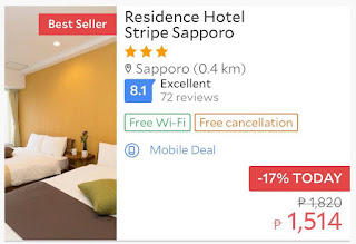 budget hotels in Sapporo
