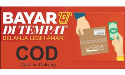 Cara Belanja COD (Bayar Ditempat) di Lazada lewat Hp Android