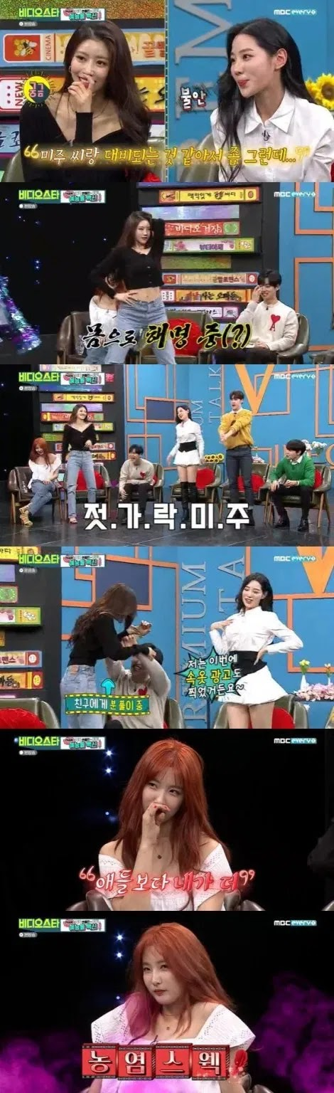 Proud To Be a Model of Underclothes and Mocking Lovelyz Mijoo's Skinny Body, Berry Good's Johyun Reaps Criticize