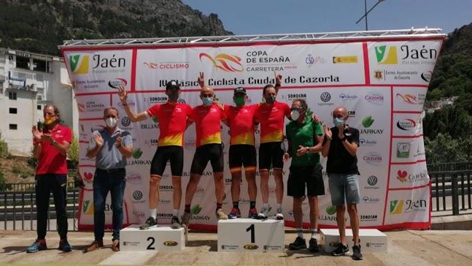 Fernando Gimeno y Arturo Muñoz triunfaron en la IV Clásica Ciclista Ciudad de Cazorla