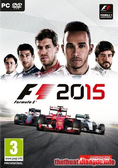 Download Game Đua Xe F1 2015 Full Crack
