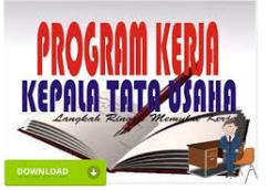 Download Aplikasi Program Kerja TU (Ketatausahaan) Sekolah Versi 2018/2019