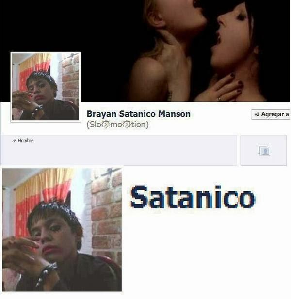 facebook poser satanico