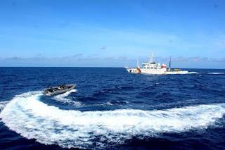 Penangkapan Kapal Pencuri Ikan Vietnam