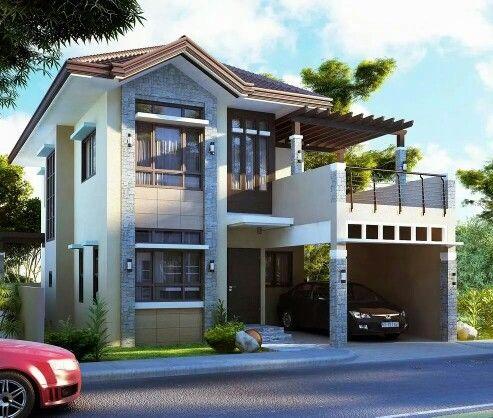 33 desain inspiratif rumah dengan model balkon terbuka