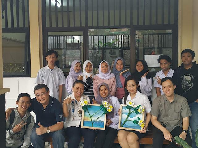 Kampus UPH Jurusan Desain Ajarkan Seni Pigura 3D
