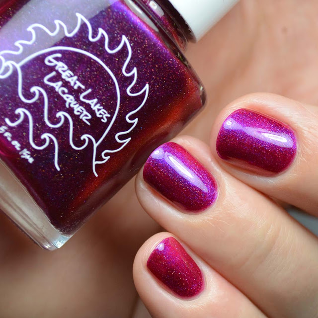 berry multichrome nail polish