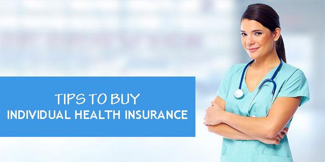 Buy Individual Health Insurance