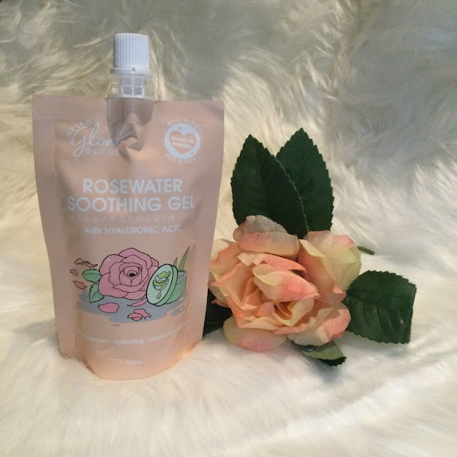 Hello Glow Rosewater Soothing Gel