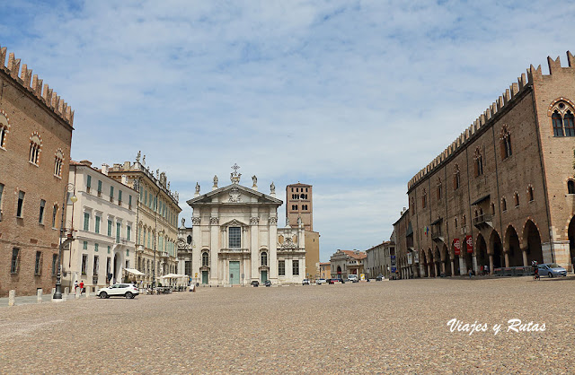 Piazza Sordello de Mantua