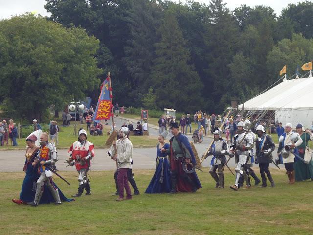 England's Medieval Festival Herstmonceux 2016